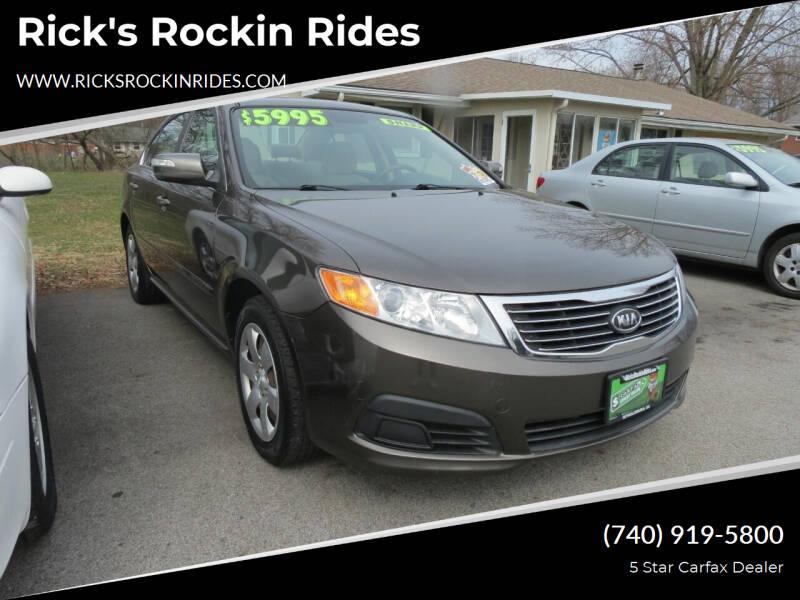2010 Kia Optima for sale at Rick's Rockin Rides in Reynoldsburg OH
