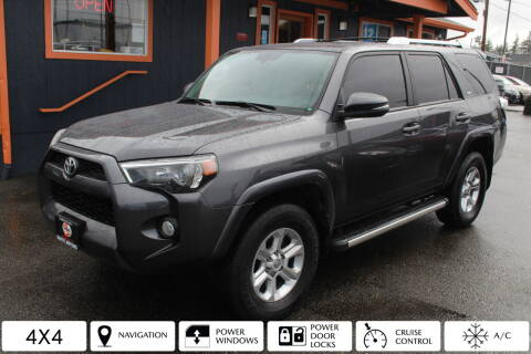 2018 Toyota 4Runner for sale at Sabeti Motors in Tacoma WA