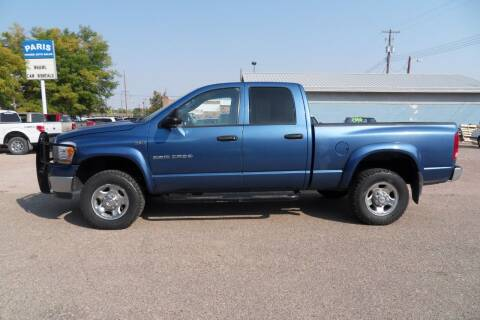 2006 Dodge Ram Pickup 2500 for sale at Paris Fisher Auto Sales Inc. in Chadron NE