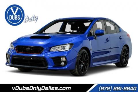 2018 Subaru WRX for sale at VDUBS ONLY in Dallas TX