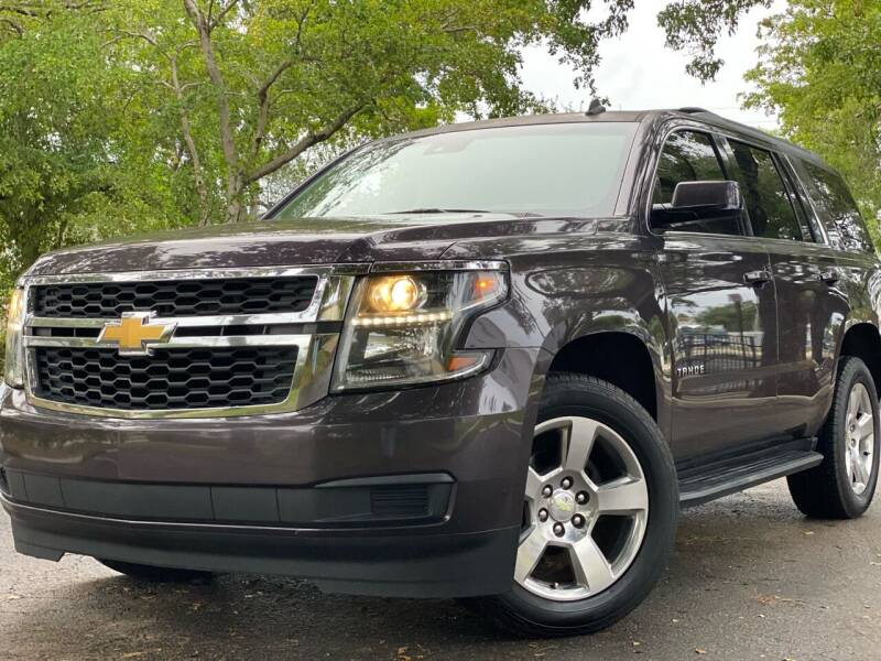 2015 Chevrolet Tahoe for sale at HIGH PERFORMANCE MOTORS in Hollywood FL