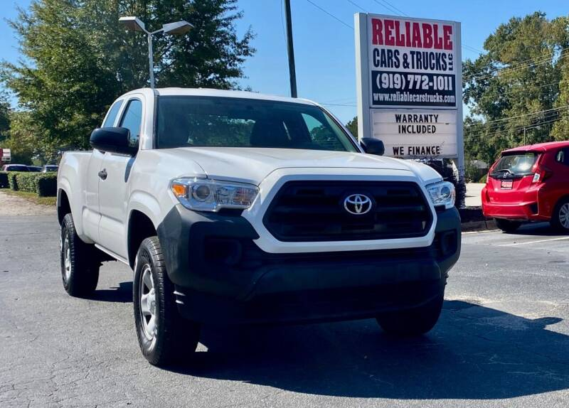 2016 Toyota Tacoma for sale at Reliable Cars & Trucks LLC in Raleigh NC