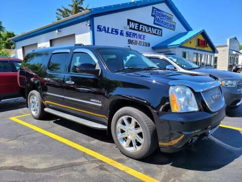 2011 GMC Yukon XL for sale at Appleton Motorcars Sales & Service in Appleton WI