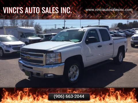 2013 Chevrolet Silverado 1500 for sale at Vinci's Auto Sales Inc. in Bessemer MI