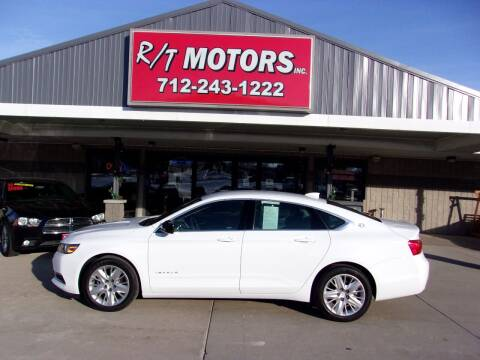 2018 Chevrolet Impala for sale at RT Motors Inc in Atlantic IA