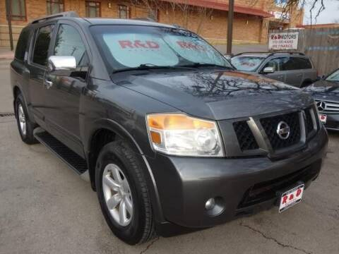 2012 Nissan Armada for sale at R & D Motors in Austin TX