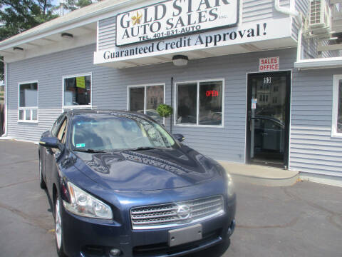 2009 Nissan Maxima for sale at Gold Star Auto Sales in Johnston RI