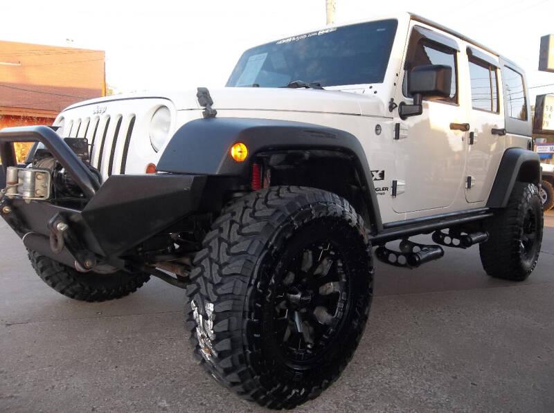 2008 Jeep Wrangler Unlimited for sale at Broken Arrow Motor Co in Broken Arrow OK