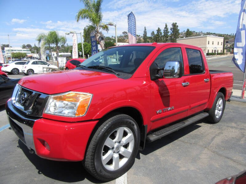2012 Nissan Titan for sale at Eagle Auto in La Mesa CA