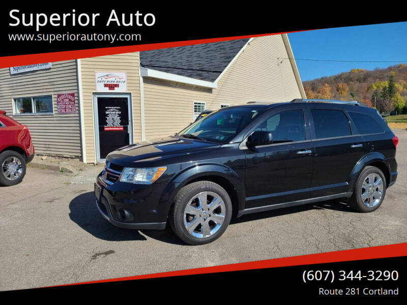 2012 Dodge Journey for sale at Superior Auto in Cortland NY