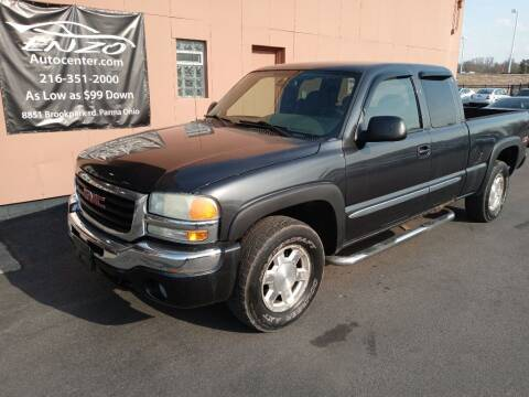 2004 GMC Sierra 1500 for sale at ENZO AUTO in Parma OH