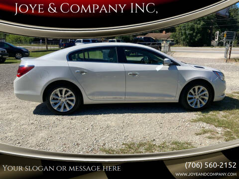 2016 Buick LaCrosse for sale at Joye & Company INC, in Augusta GA
