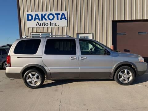 2006 Pontiac Montana SV6 for sale at Dakota Auto Inc. in Dakota City NE