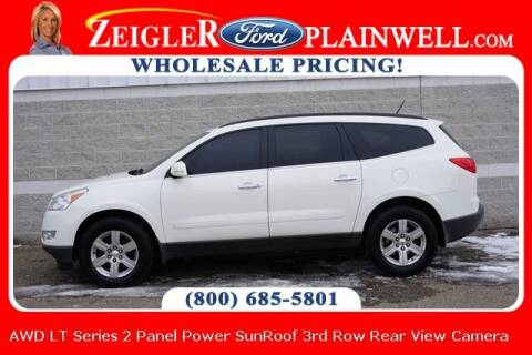 2012 Chevrolet Traverse for sale at Zeigler Ford of Plainwell- Jeff Bishop in Plainwell MI