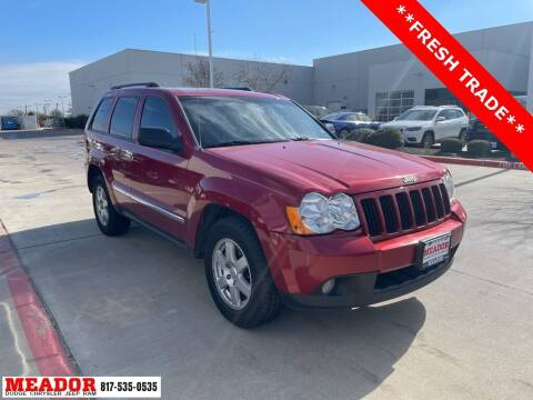 2010 Jeep Grand Cherokee for sale at Meador Dodge Chrysler Jeep RAM in Fort Worth TX