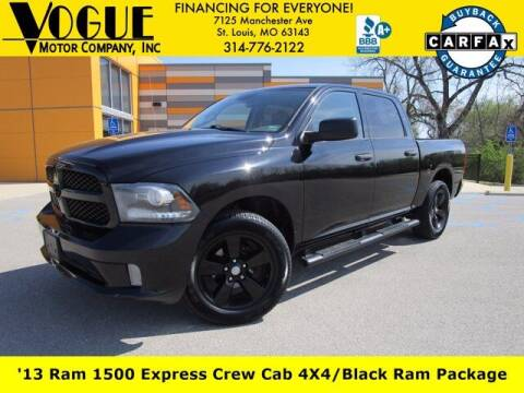 2013 RAM Ram Pickup 1500 for sale at Vogue Motor Company Inc in Saint Louis MO