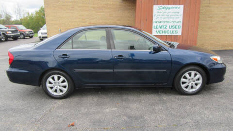 2002 Toyota Camry for sale at LENTZ USED VEHICLES INC in Waldo WI