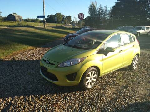 2011 Ford Fiesta for sale at Seneca Motors, Inc. (Seneca PA) - SHIPPENVILLE, PA LOCATION in Shippenville PA
