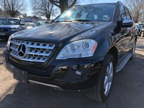 2010 Mercedes-Benz M-Class for sale at Atlantic Auto Sales in Garner NC