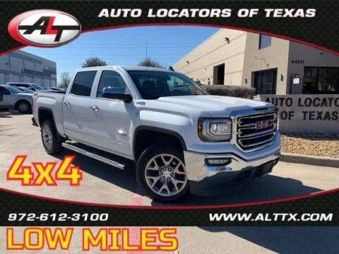 2018 GMC Sierra 1500 for sale at AUTO LOCATORS OF TEXAS in Plano TX