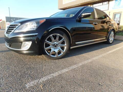 2011 Hyundai Equus for sale at Flywheel Motors, llc. in Olive Branch MS