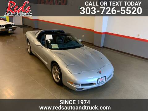 2004 Chevrolet Corvette for sale at Red's Auto and Truck in Longmont CO