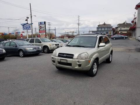 2007 Hyundai Tucson for sale at 25TH STREET AUTO SALES in Easton PA