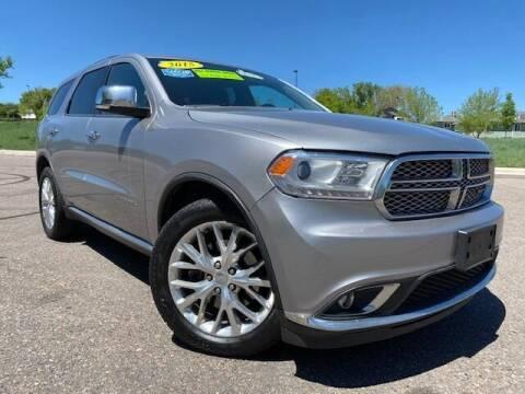 2015 Dodge Durango for sale at UNITED Automotive in Denver CO