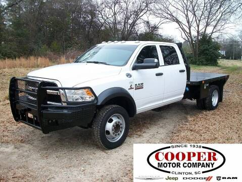 2018 RAM Ram Chassis 5500 for sale at Cooper Motor Company in Clinton SC