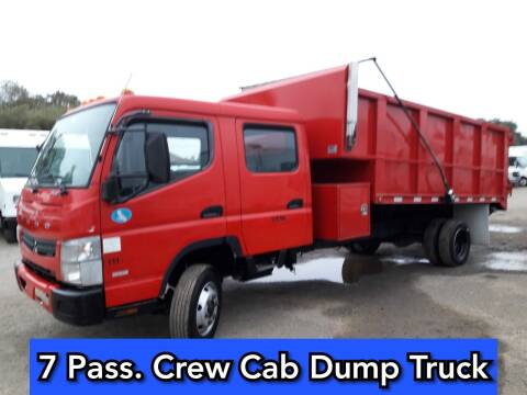 2012 Mitsubishi Fuso FEC72W for sale at DOABA Motors in San Jose CA