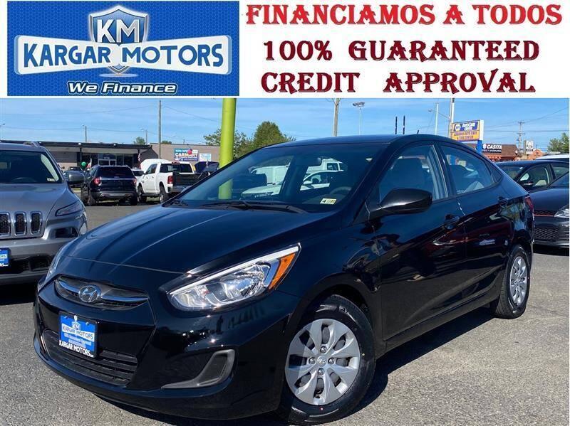 2017 Hyundai Accent for sale at Kargar Motors of Manassas in Manassas VA