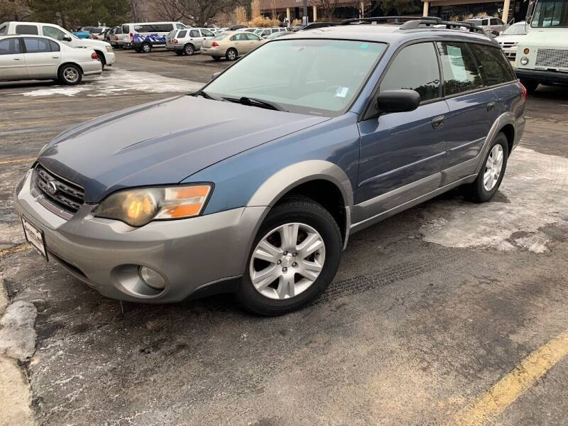 2005 Subaru Outback for sale at AROUND THE WORLD AUTO SALES in Denver CO