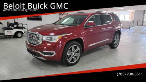 2019 GMC Acadia for sale at Beloit Buick GMC in Beloit KS