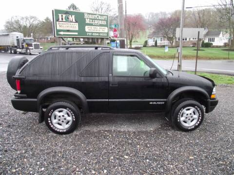 1999 Chevrolet Blazer for sale at Country Truck and Car Lot II in Richfield PA