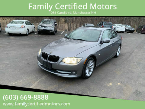 2011 BMW 3 Series for sale at Family Certified Motors in Manchester NH