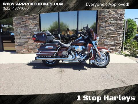 2011 Harley-Davidson Ultra Limited FLHTK for sale at 1 Stop Harleys in Peoria AZ