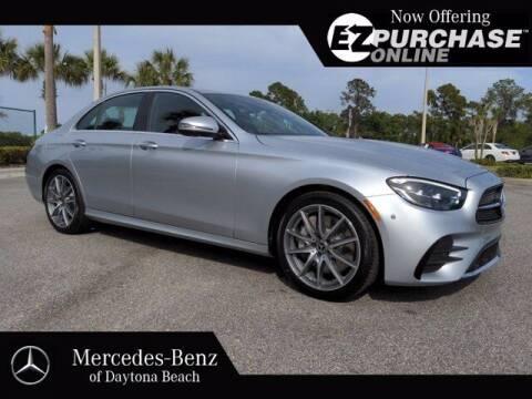 2021 Mercedes-Benz E-Class for sale at Mercedes-Benz of Daytona Beach in Daytona Beach FL