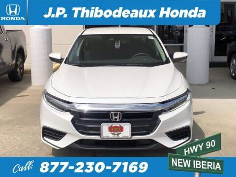 2021 Honda Insight for sale at J P Thibodeaux Used Cars in New Iberia LA