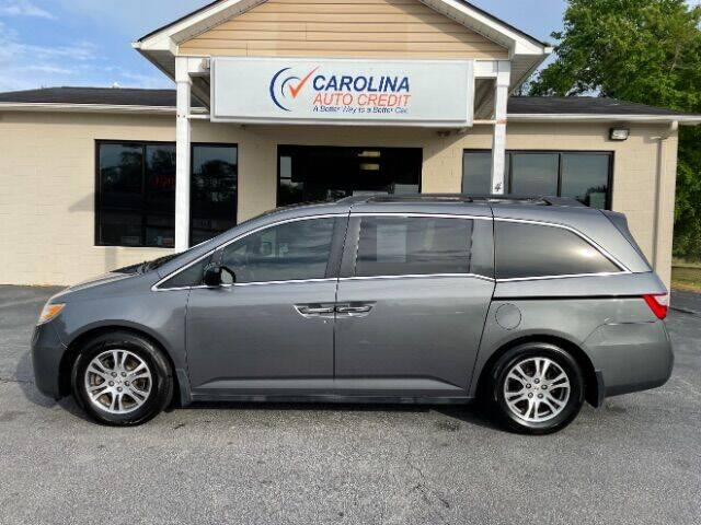 2012 Honda Odyssey for sale at Carolina Auto Credit in Youngsville NC