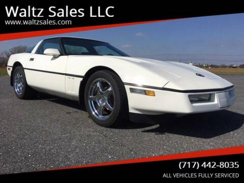 1986 Chevrolet Corvette for sale at Waltz Sales LLC in Gap PA