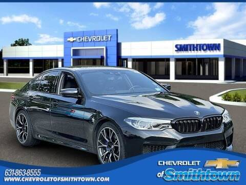 2018 BMW M5 for sale at CHEVROLET OF SMITHTOWN in Saint James NY