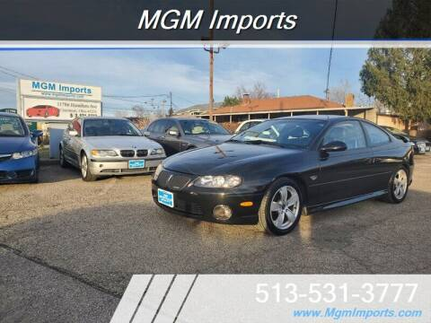 2004 Pontiac GTO for sale at MGM Imports in Cincannati OH