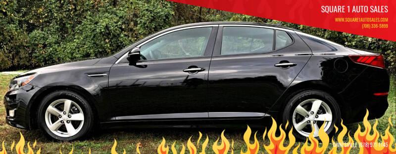 2015 Kia Optima for sale at Square 1 Auto Sales in Commerce GA