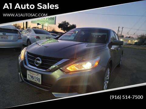 2016 Nissan Altima for sale at A1 Auto Sales in Sacramento CA
