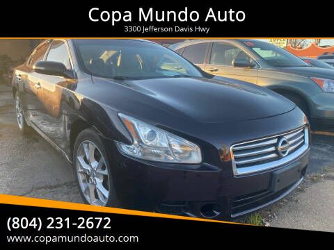 2012 Nissan Maxima for sale at Copa Mundo Auto in Richmond VA