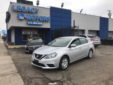 2018 Nissan Sentra for sale at Legacy Motors in Detroit MI