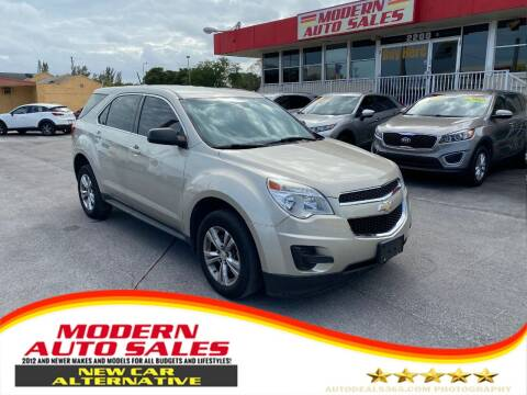 2015 Chevrolet Equinox for sale at Modern Auto Sales in Hollywood FL