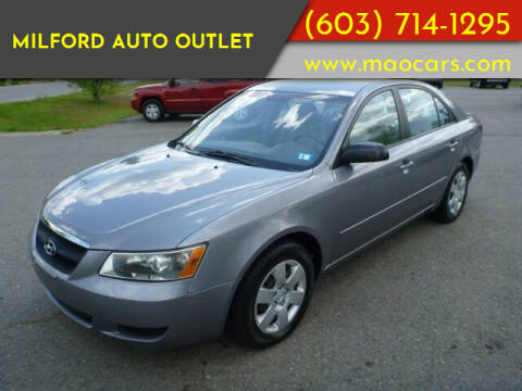 2006 Hyundai Sonata for sale at Milford Auto Outlet in Milford NH