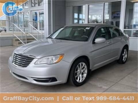 2012 Chrysler 200 for sale at GRAFF CHEVROLET BAY CITY in Bay City MI