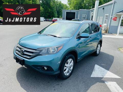 2014 Honda CR-V for sale at J & J MOTORS in New Milford CT